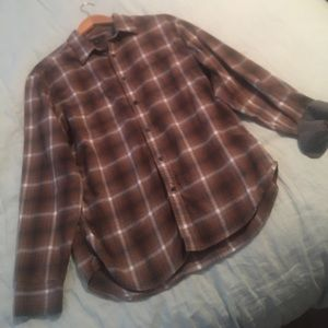 Banana Republic Plaid Button-Down